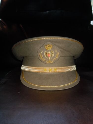 Vintage WW 2 Spanish Civil War Officers Visor Hat/Cap
