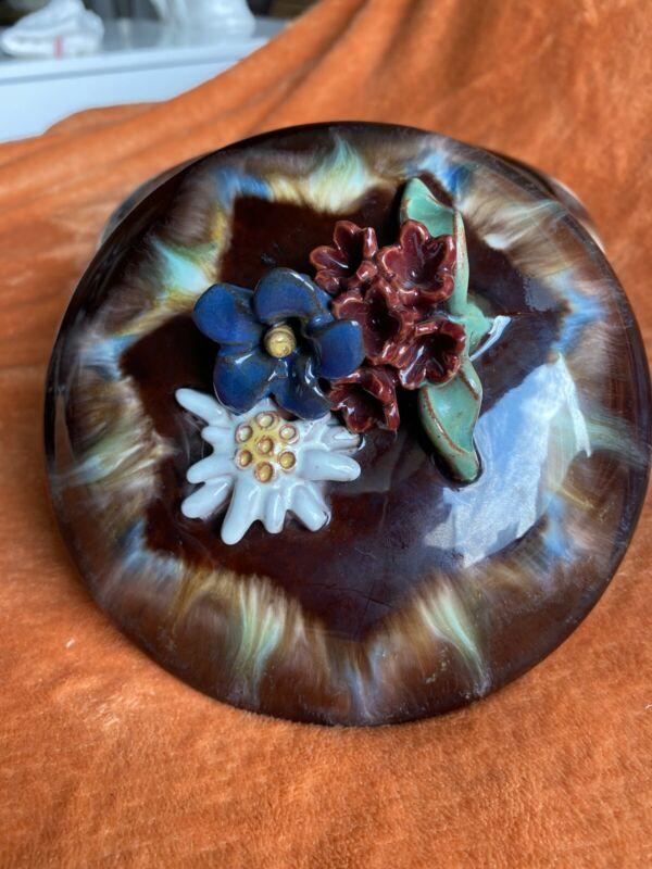 Pottery Liezen Bowl With Lid Austria