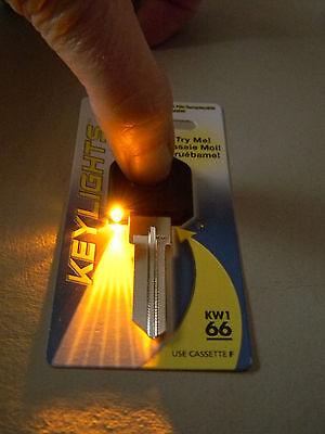 Kwikset Weiser Lighted Kw1 Key Blank- Black