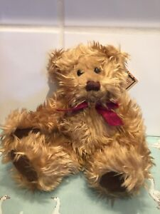 """Russ Berrie Teddy Bear GREGORY 8"""" With Tag"""
