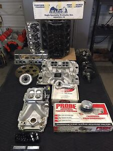 496 BBC 4Bolt Main Edelbrock Heads FAST EFI and more