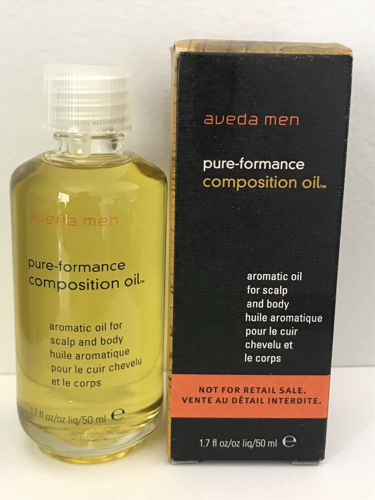 Aveda Men Pure-Formance Composition Aromatic Oil 1.7 oz 50ml