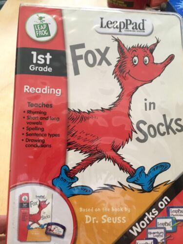 Leappad Fox In Socks New Sealed 2004