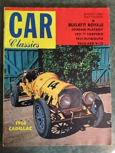 Car Classics from August 1967