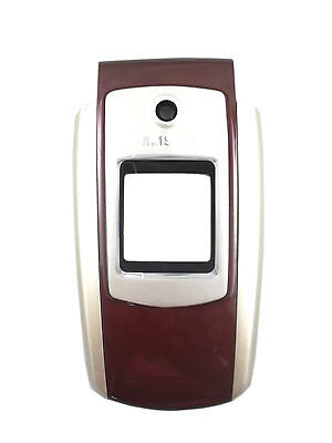 Samsung SGH-A127 Cell Phone Front Housing Case Plastic Cover Faceplates Wine OEM Samsung Cell Phone Faceplates