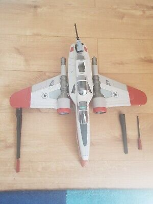 Star Wars Clone Wars Variant ARC-170 Fighter Vehicle Hasbro 2008 Toy