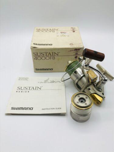 SHIMANO SUSTAIN 4000FB W/EXTRA SPOOL SPINNING REEL