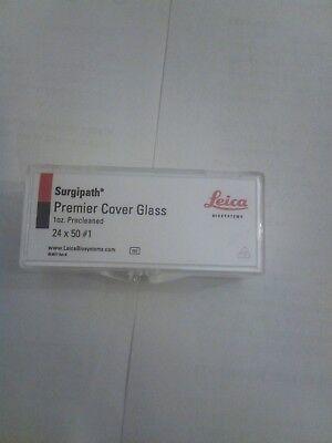 Leica Biosystems Surgipath Premiere Cover Glass 1oz Precleaned