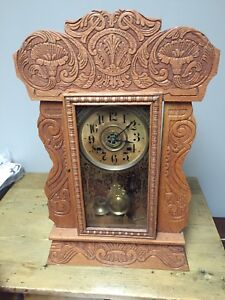 Antique country kitchen clock