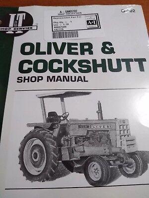 1800, 1650 1555 1600 1755 1655 1750 Oliver /& Cockshutt Repair Manual 1550