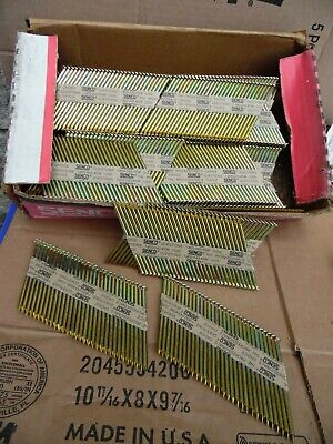 Senco 3 X.131 Framing Nails Collated Paper Strip Galvanized Weatherex 1000 Pack