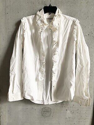 issey miyake Button Down Shirt Top Size 4