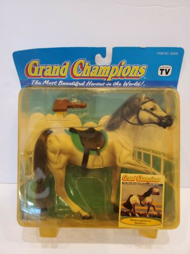 GRAND CHAMPIONS Horses THOROUGHBRED STALLION Blister Pack