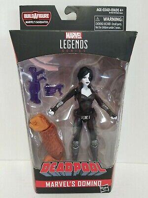 """Marvel Legends Deadpool Series 6"""" Marvel's Domino X-Force Action Figure w/ BAF"""
