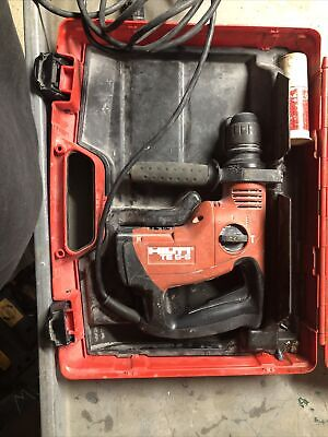 Hilti Te 6-s Rotary Hammer Drill With Case