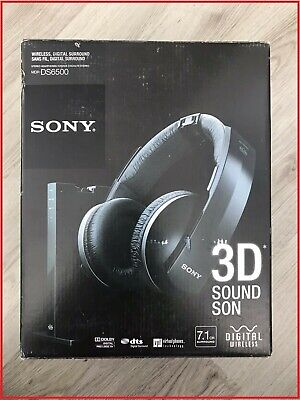Sony MDR-DS6500M Digital Wireless 3D Surround Headphones 7.1