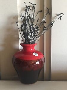 Signature home styles vase and beaded filler