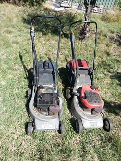Victa/red one/ two stroke lawn mower