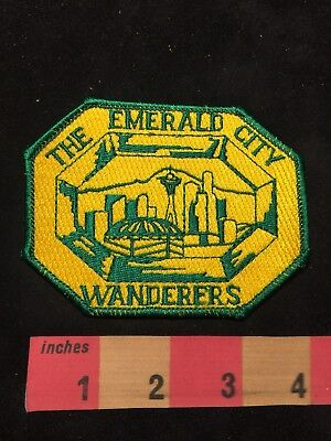 Emerald City Wanders Seattle Washington Patch - SPACE NEEDLE & More 88XD