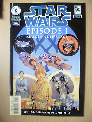 DARK HORSE COMIC STAR WARS- EPISODE I, ANAKIN SKYWALKER, MAY 1999