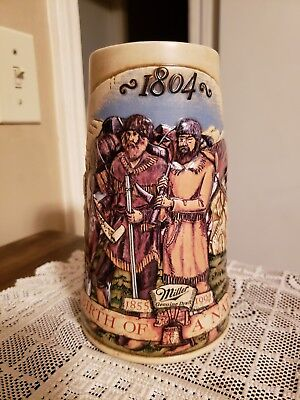 1804 Miller Birth Of A Nation Fourth In The Series Beer Stein Lewis & Clark