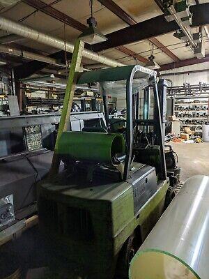 Clark C500-55 Forklift Triple Mast