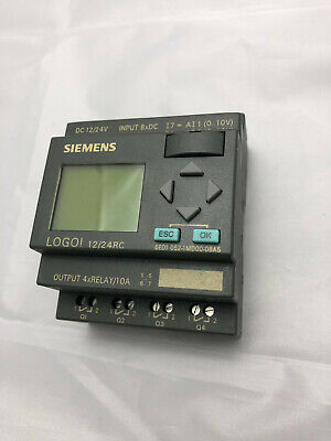 Siemens Logo 1224rc 6ed1052-1md00-0ba6