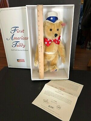 The First American Teddy Bear 2003 Steiff North American Exclusive 15