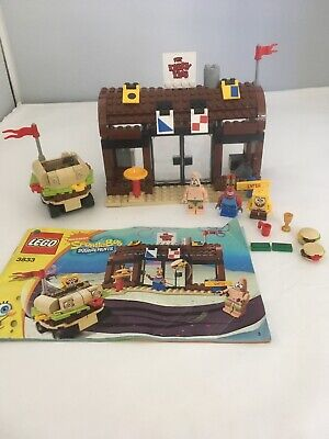 Lego 3833 - Spongebob Squarepants/Krusty Krab Adventures.jm