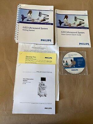 Philips Iu22 Ultrasound System User Manual User Information Cd Books