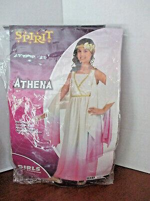 SPIRIT~ATHENA Roman / Greek Toga HALLOWEEN COSTUME~Girls Large (12-14)