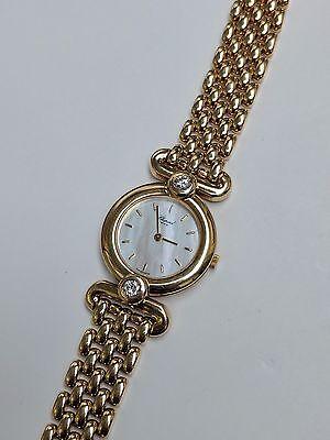 Chopard 18K Gold & Diamond Watch 10/5945 Happy Diamond Imperiale Watch Rare Find