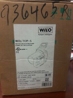 Wilo Top-s 20590050510 Water Circulating Pump