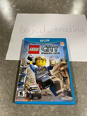 LEGO City Undercover for Nintendo Wii U  ** MINT / COMPLETE **