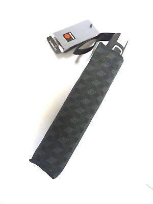 Regenschirm Knirps Fiber T2  Duomatik Taschenschirm - Herren schwarz grau