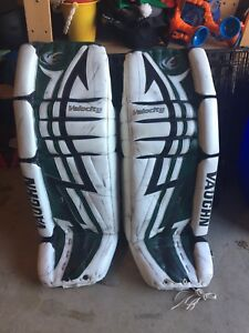 Used hockey goalie equip