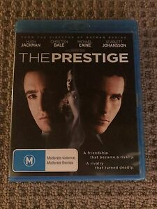 The Prestige Blu Ray The Junction Newcastle Area Preview
