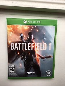Battlefield 1 Xbox One *Only used Once, Mint Condition*