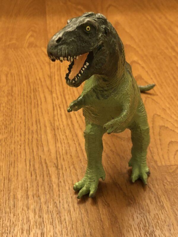 Vintage 1988 The Carnegie Safari LTD Tyrannosaurus Rex Dinosaur Figure.
