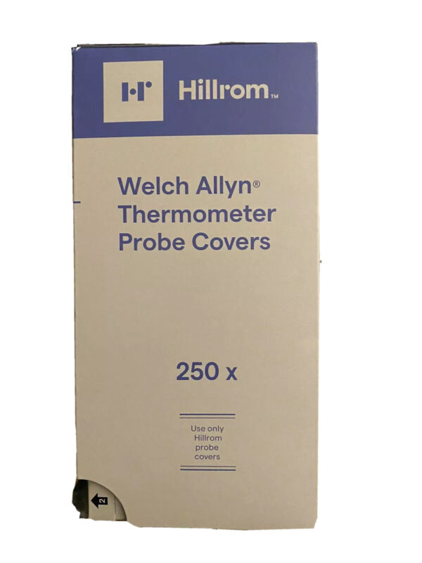 250 Hillrom Welch Allyn Thermometer Probe Cover
