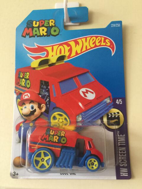 Hot Wheels 2016 Super Mario Cool-One Long Card