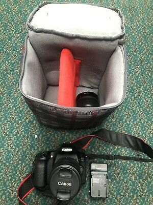 Canon Ds126411 EOS 70D Digital SLR Camera With EFS 55-250mm Lens Free Shipping!