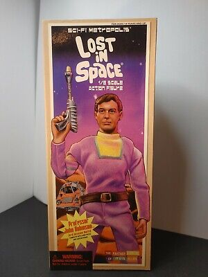 """Lost in Space Professor John Robinson in 3rd Season Outfit 12""""Action Figure"""