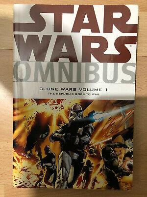 Star Wars Omnibus Clone Wars Republic Goes to War 1 Dark Horse Comics paperback