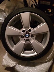 """BMW 18"""" Mags and Low Pro Tires 225/40R18 ($$Negotiable)"""