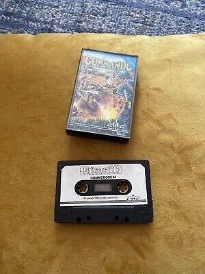Commando Commodore 64 C64 Cassette Tape Game
