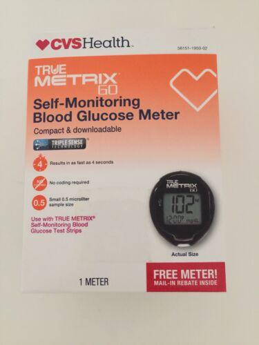 New TRUENEW METRIX AIR SELF-MONITORING BLOOD GLUCOSE METER