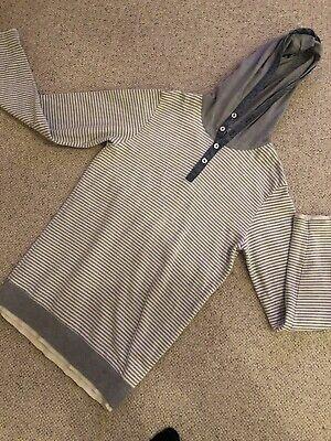 Burton Grey Hoodie - Grey - Size Small