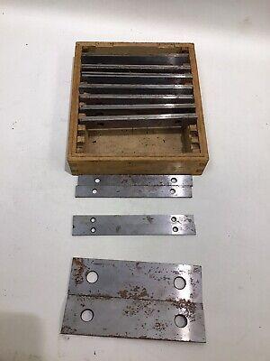 10 Pairs Machinist Steel Parallel Precision Gauge Parallel Blocks 14 - 12