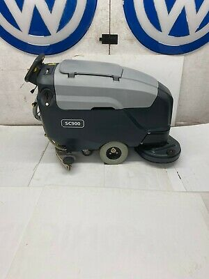 Advance Sc900 34 Automatic Floor Scrubber. Walk Behind W Batteries W Shipping